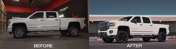 Chevy Silverado Leveling Kit Before And After >> SilveradoSierra.com • Level up your 2011-2015 GM truck with RBP Leveling Kit : CariD.com