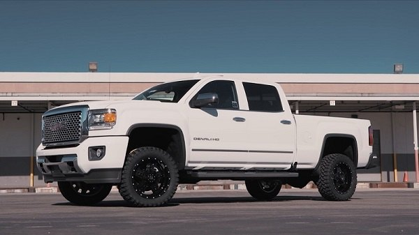 Silverado Leveling Kit Before And After >> GMC Sierra with 2.25in Leveling Kit by RBP