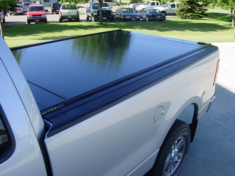Best retractable bed covers by rextrax for 39 16 f 150 for Types of bed covers