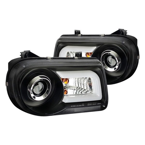 2005 2006 2007 Chrysler 300c Srt8 Clear Black Headlights: Maximize The Lighting Capabilities Of Your 300 With Spyder