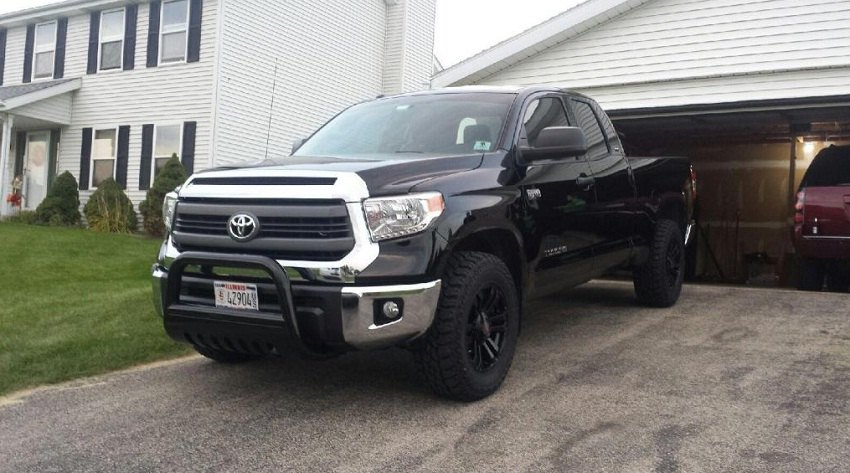 Let's talk about bull bars and grille guards for Tundra ...