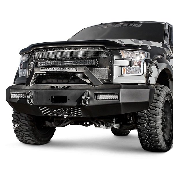 Heavy Duty Front Steel Bumper With Winch Mount Da5645 For: Purchase Any Westin HDX Bumper And Get FREE Light Bars