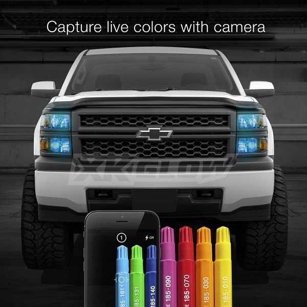 Be Able To Choose The Color Of Your Lights With Xkglow