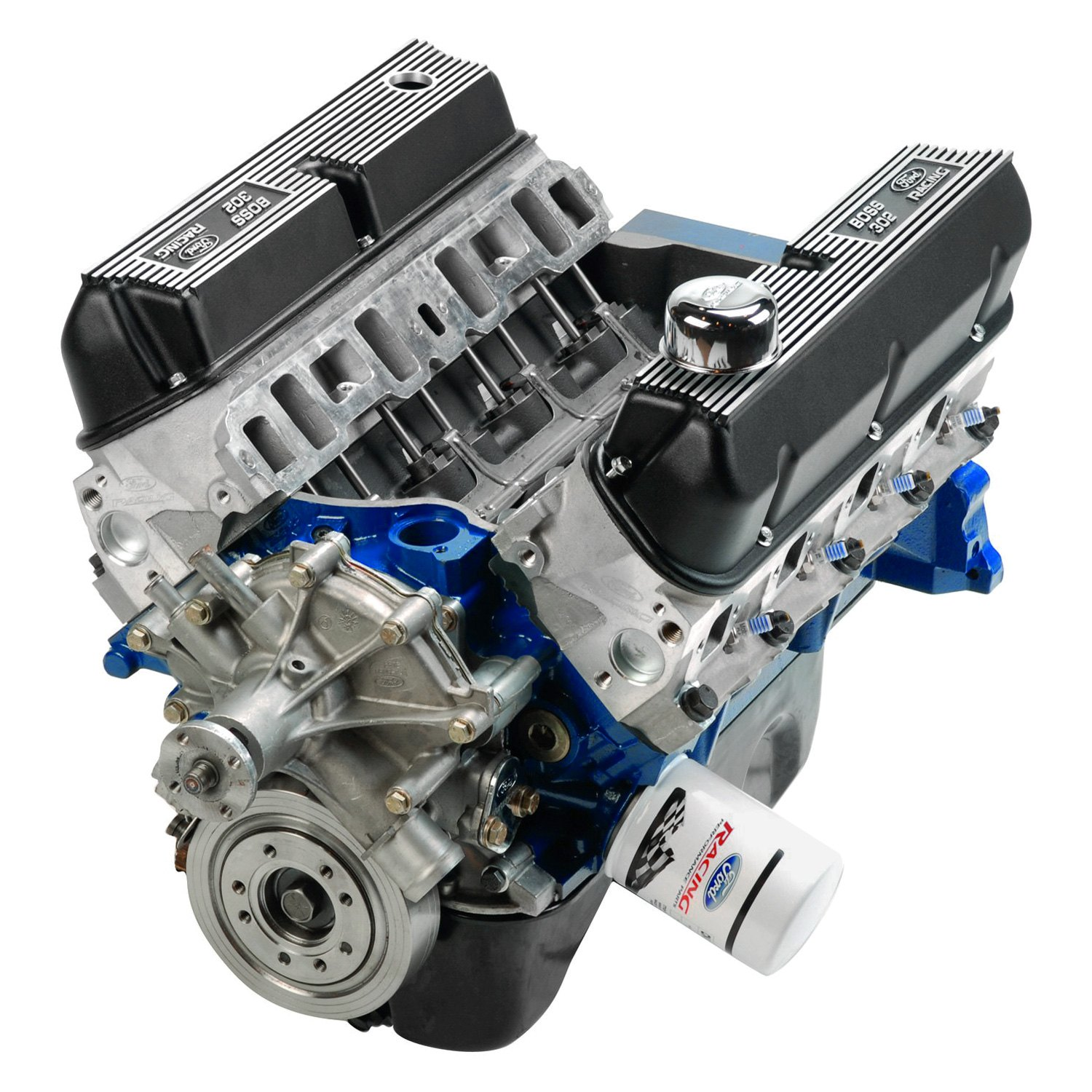 Ford performance crate engine kit for Ford stroker motor sizes