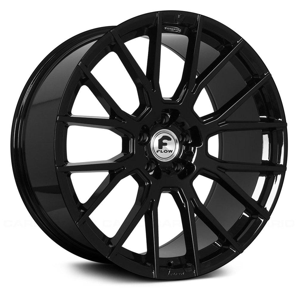 Forgiato 174 Flow 001 Wheels Gloss Black Rims