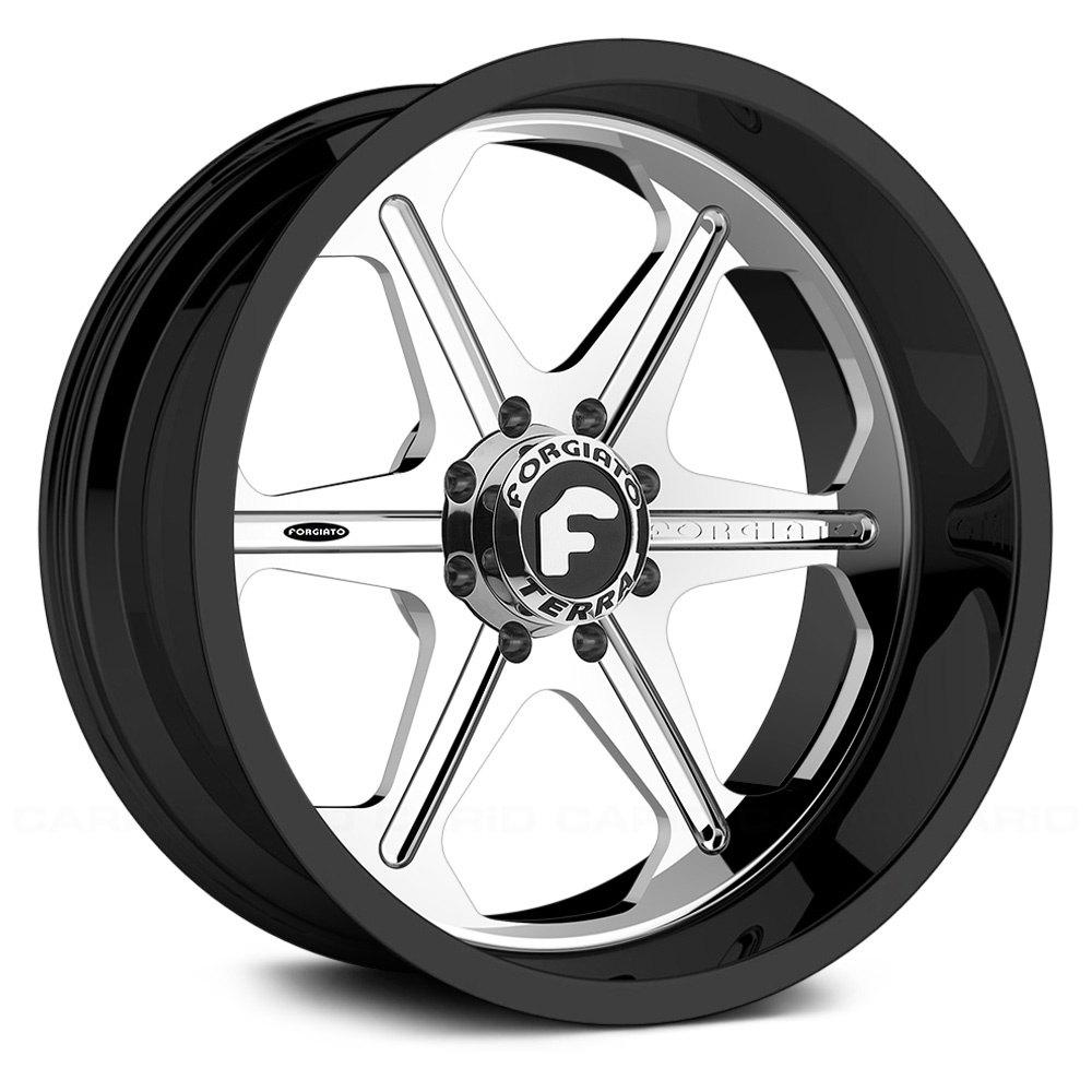 Forgiato Sporcizia T Wheels Custom Finish Rims Jeep Wrangler Draw Chromeforgiato Black Gray On
