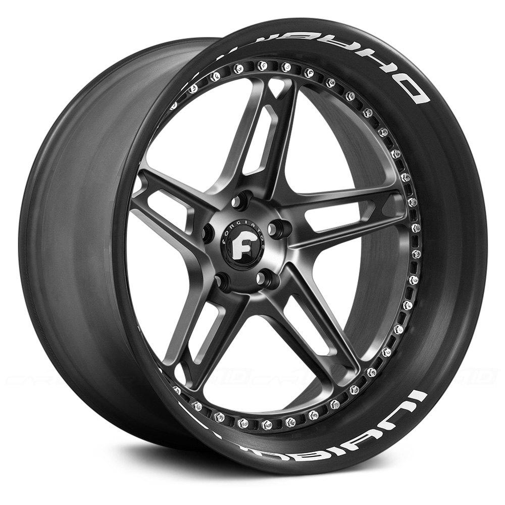 FORGIATO® AFFILIATO-F Wheels - Anodized Center Rims