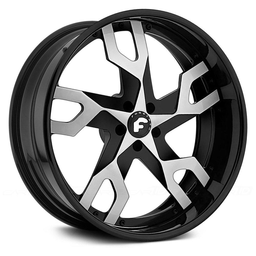 Forgiato 174 Basamento B Wheels Custom Painted Rims