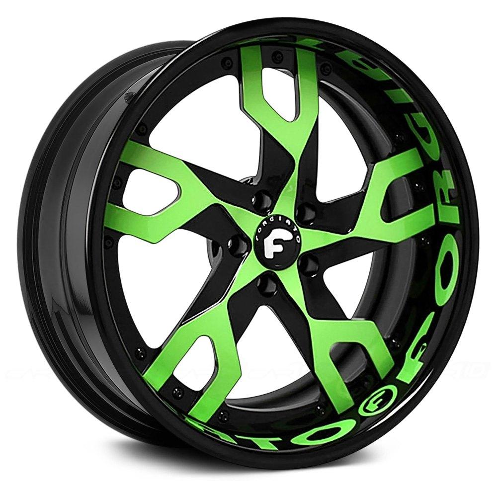 Forgiato 174 Basamento Wheels Custom Finish Rims