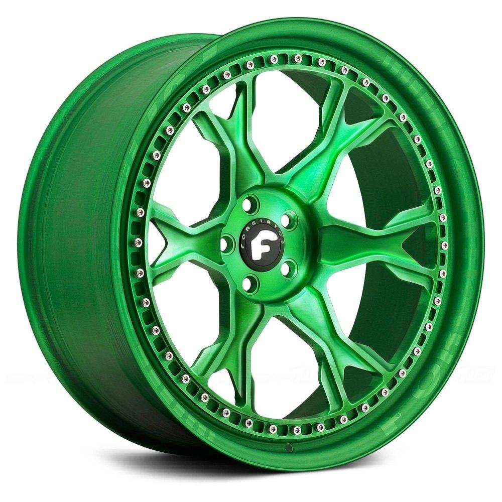 FORGIATO® BRACCIO-F Wheels - Anodized Center Rims