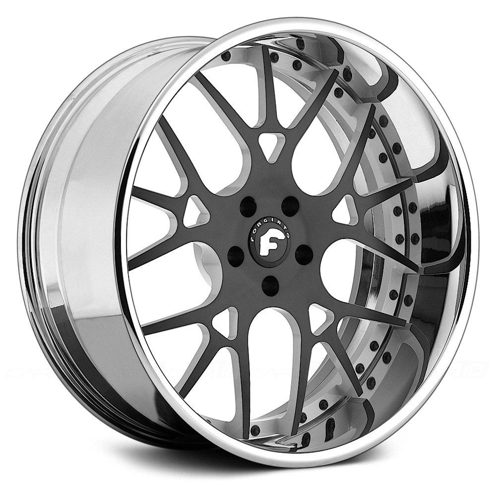 Forgiato 174 Maglia Wheels Custom Finish Rims