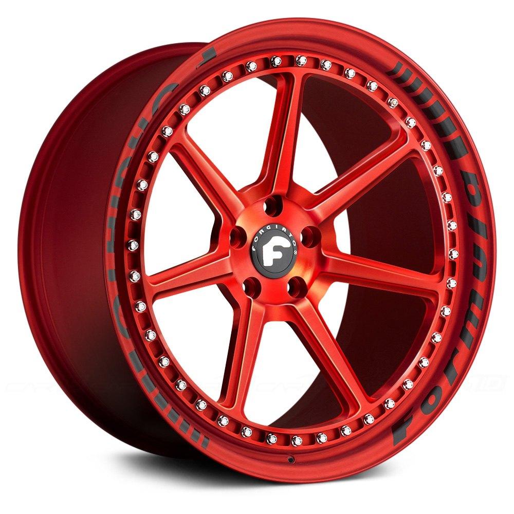 FORGIATO® SETTE-F Wheels - Anodized Center Rims