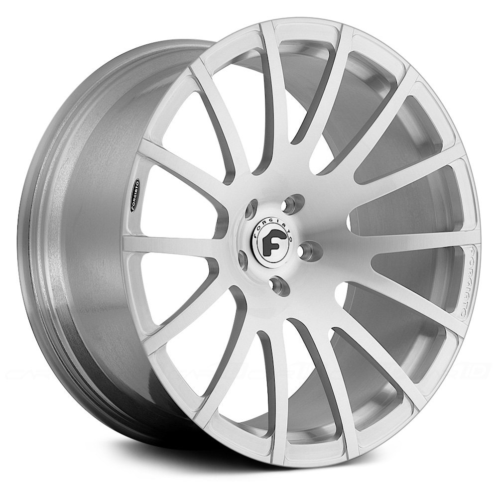 Forgiato titanio m wheels rims
