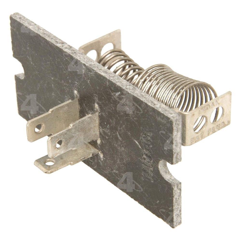 Four seasons 20906 hvac blower motor resistor for What is a blower motor resistor