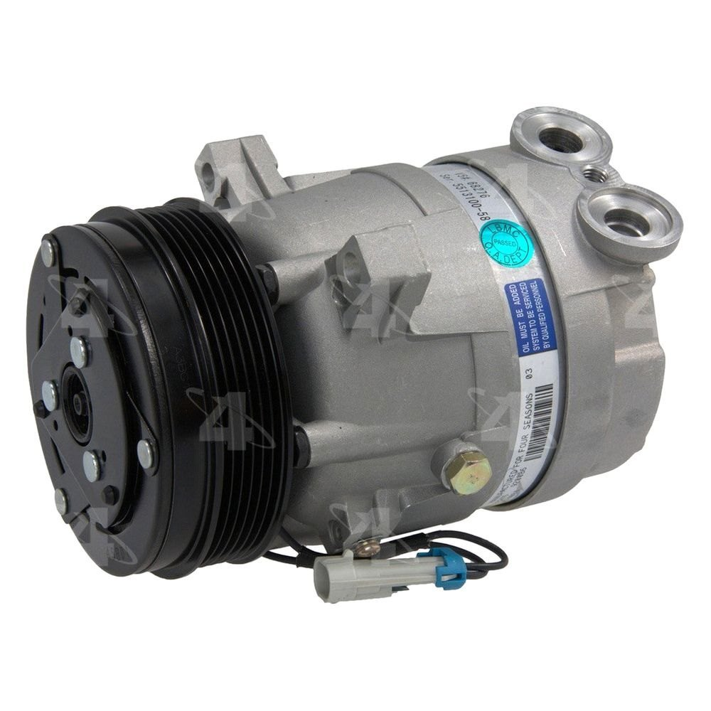 Four Seasons Heating And Air Conditioning >> Four Seasons® - Cadillac Catera With Factory Compressor Type V5 1997-2001 A/C Compressor with Clutch