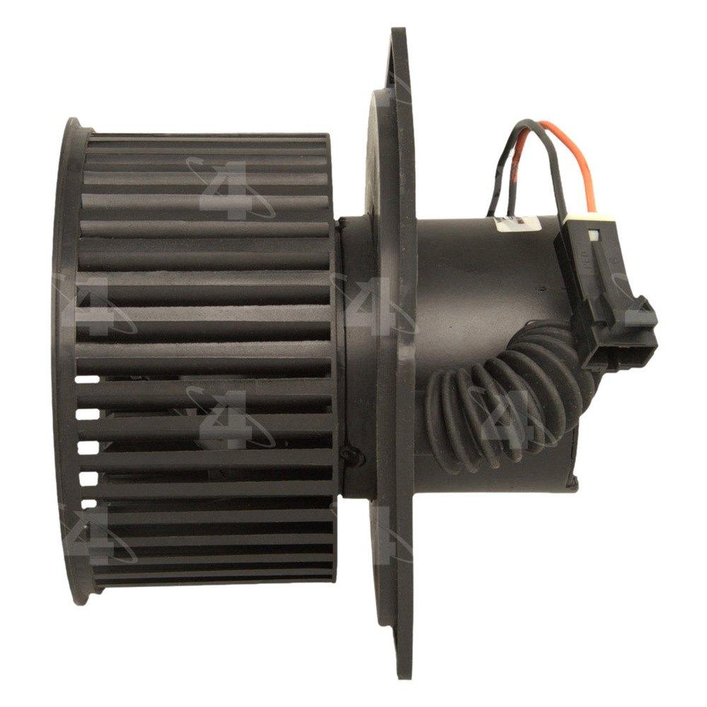 Four seasons 75777 hvac blower motor with wheel for Hvac blower motor not working