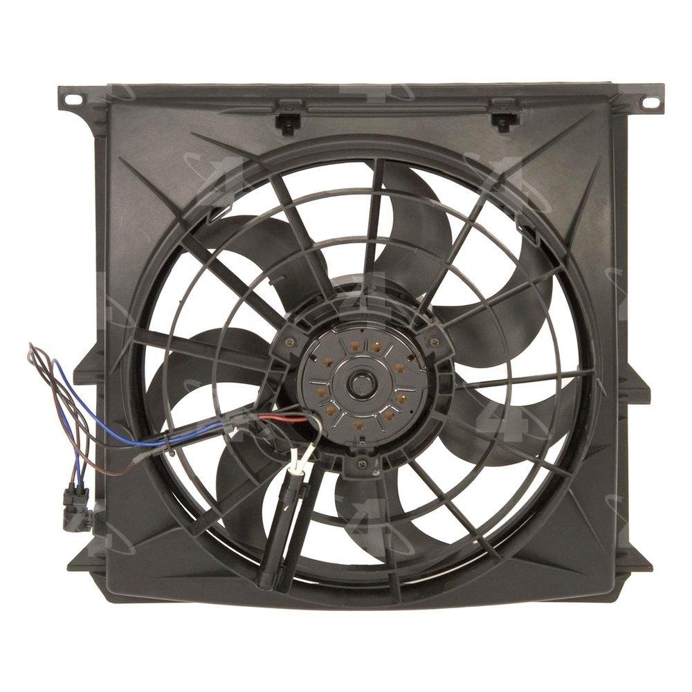 Hvac Fan Blade : Four seasons bmw series a c condenser fan assembly