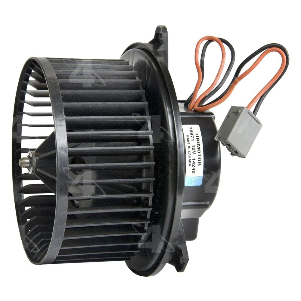 Four seasons 76971 hvac blower motor with wheel for Furnace blower motor price