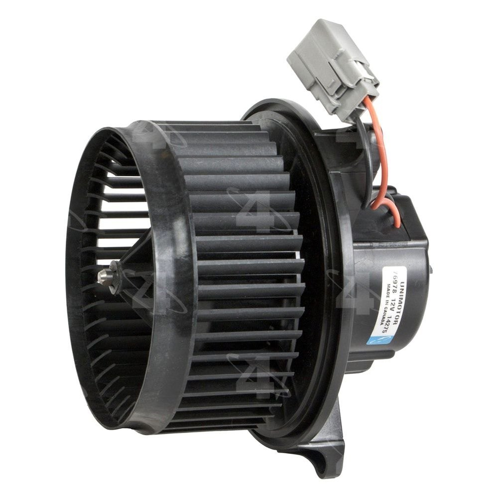 Four seasons 76978 hvac blower motor with wheel for Blow motor for furnace