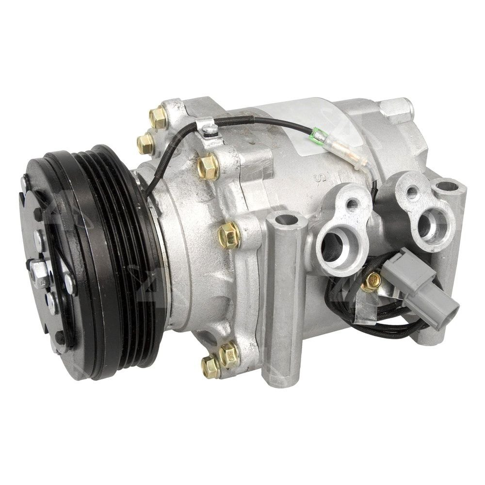 Four seasons honda civic with factory compressor type for Honda civic ac compressor replacement cost