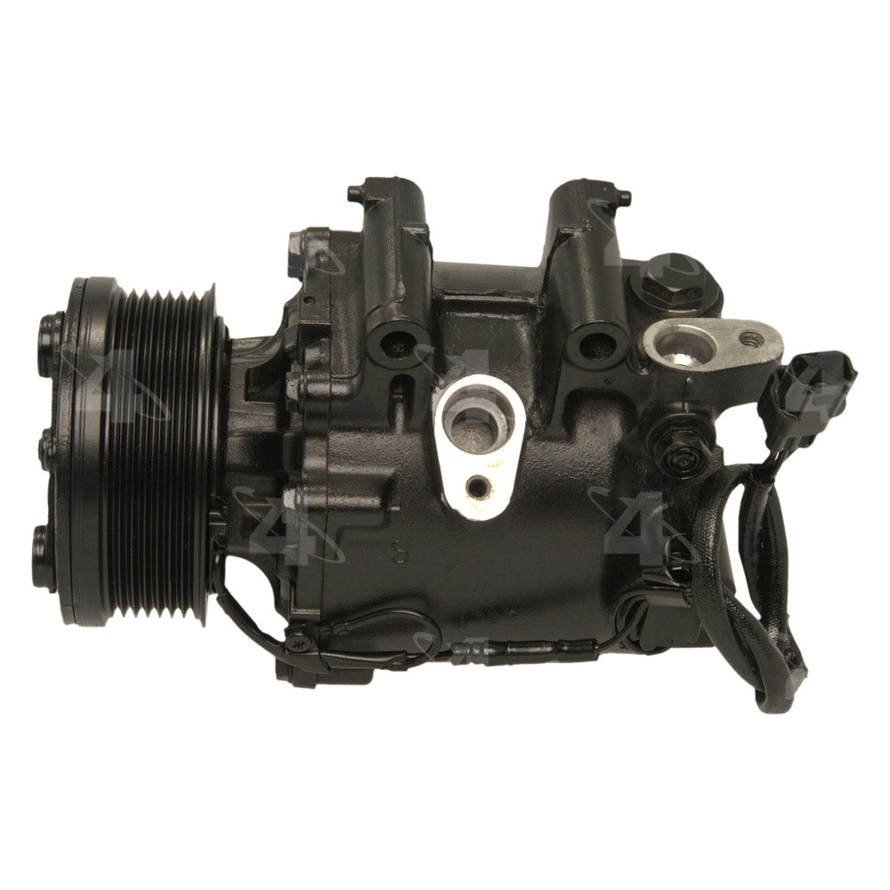Four seasons honda civic with factory compressor type for Honda air compressor motor parts