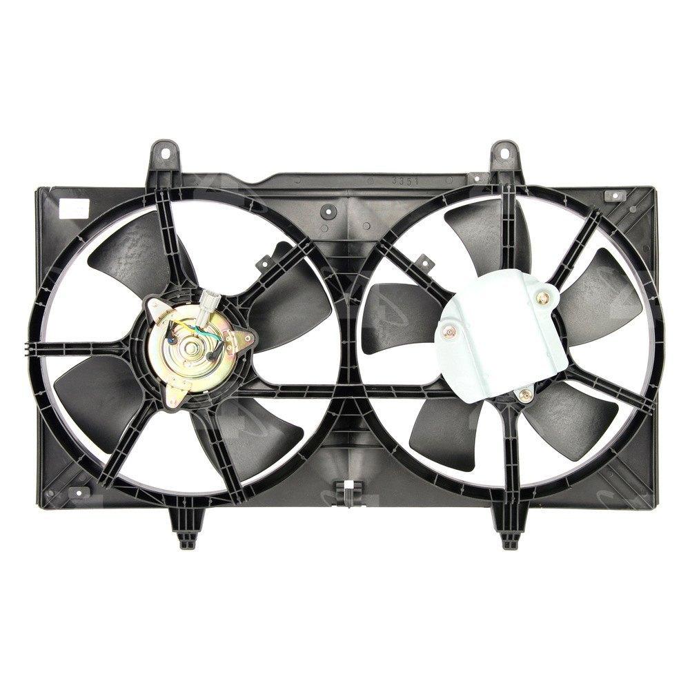 Radiator Condenser Fan Motor Assembly Ebay