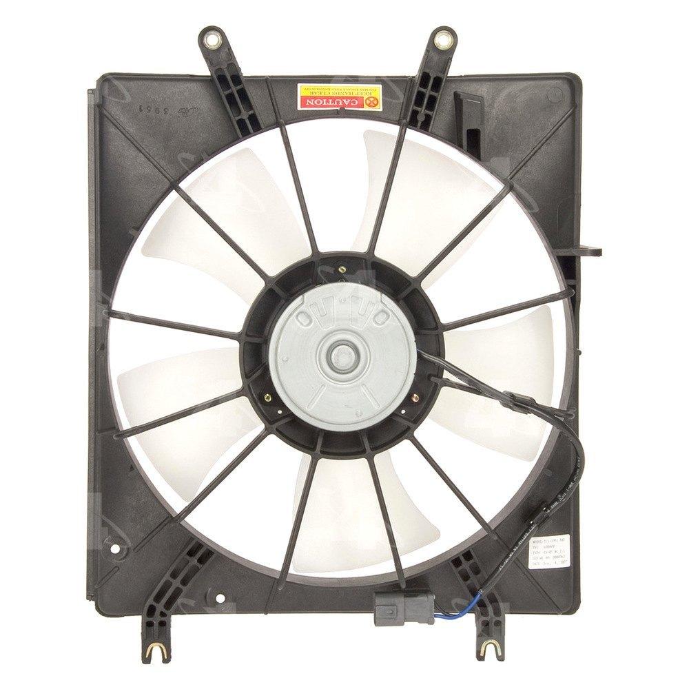 radiator fan motor assembly ebay