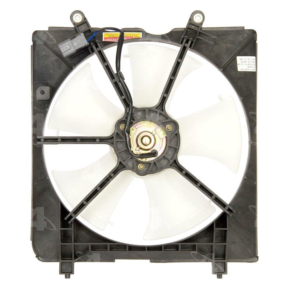 Motor Cooling Blades : Four seasons honda civic engine cooling fan