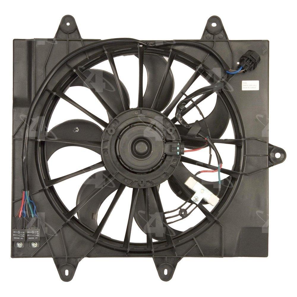 Motor Cooling Blades : Four seasons chrysler pt cruiser l  engine