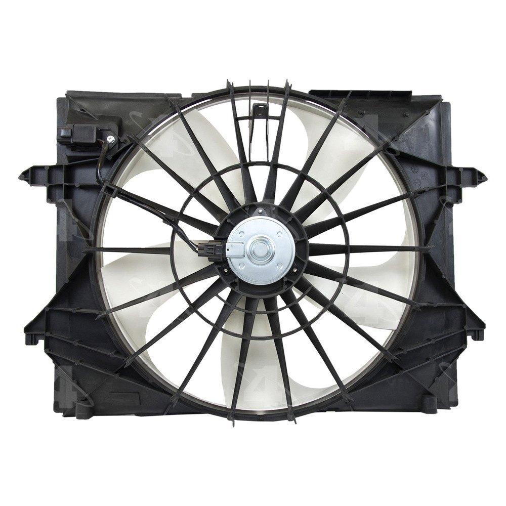 Motor Cooling Blades : Four seasons ram radiator fan motor assembly
