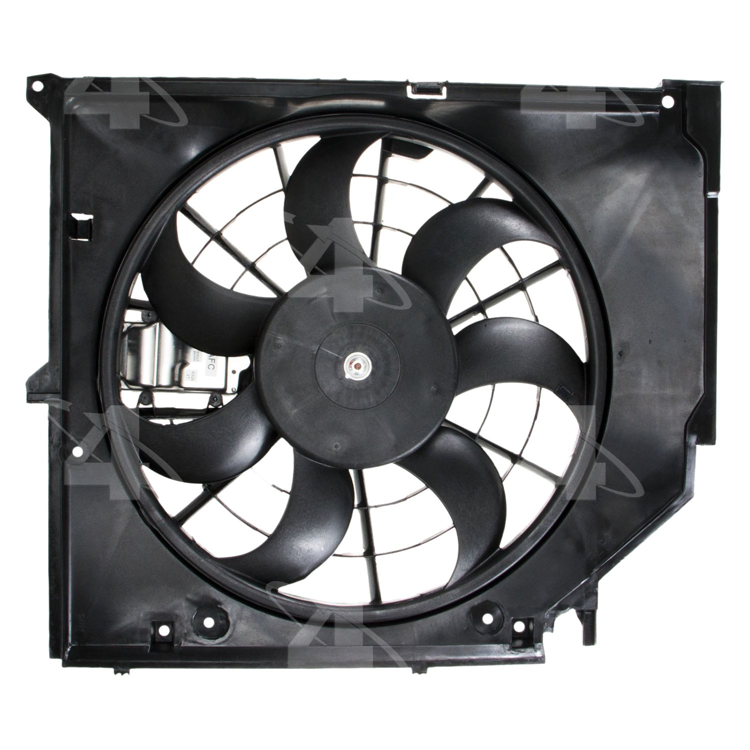 Motor Cooling Blades : Four seasons bmw series engine cooling fan