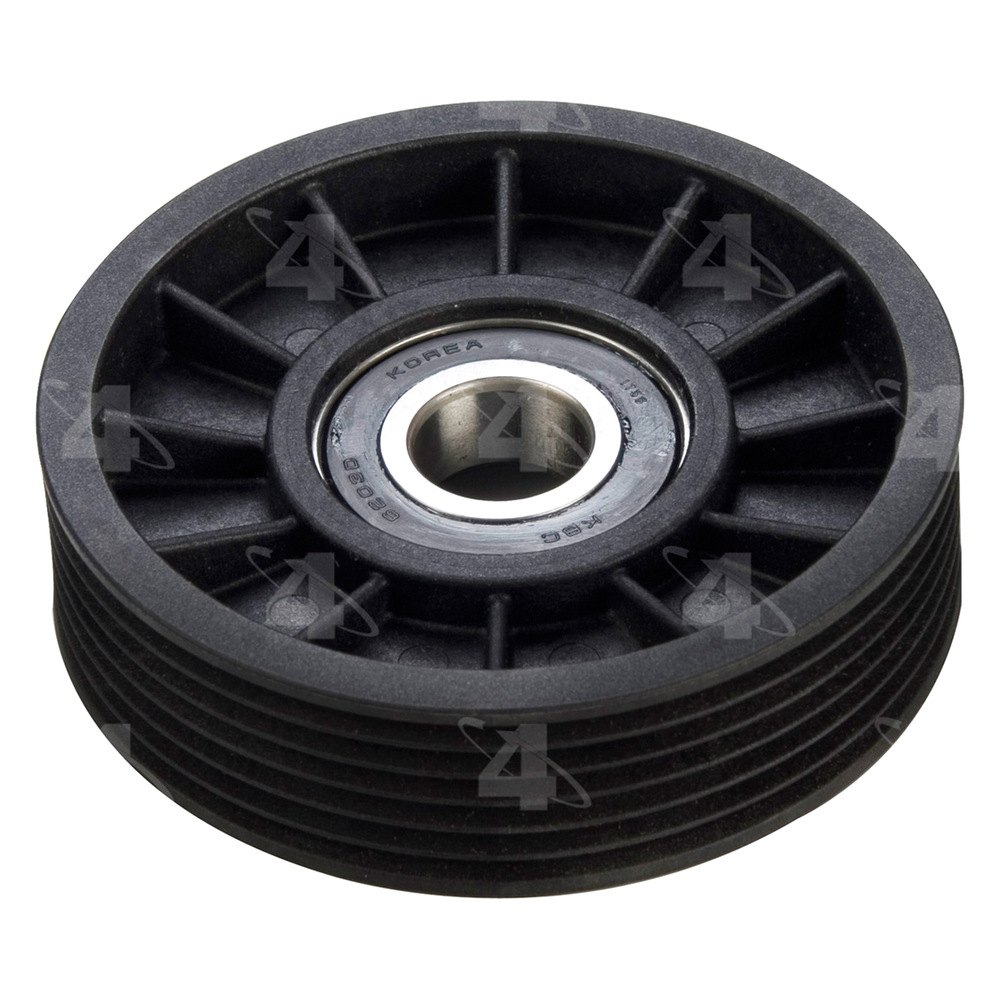 Idler Pulley : Four seasons? drive belt idler pulley