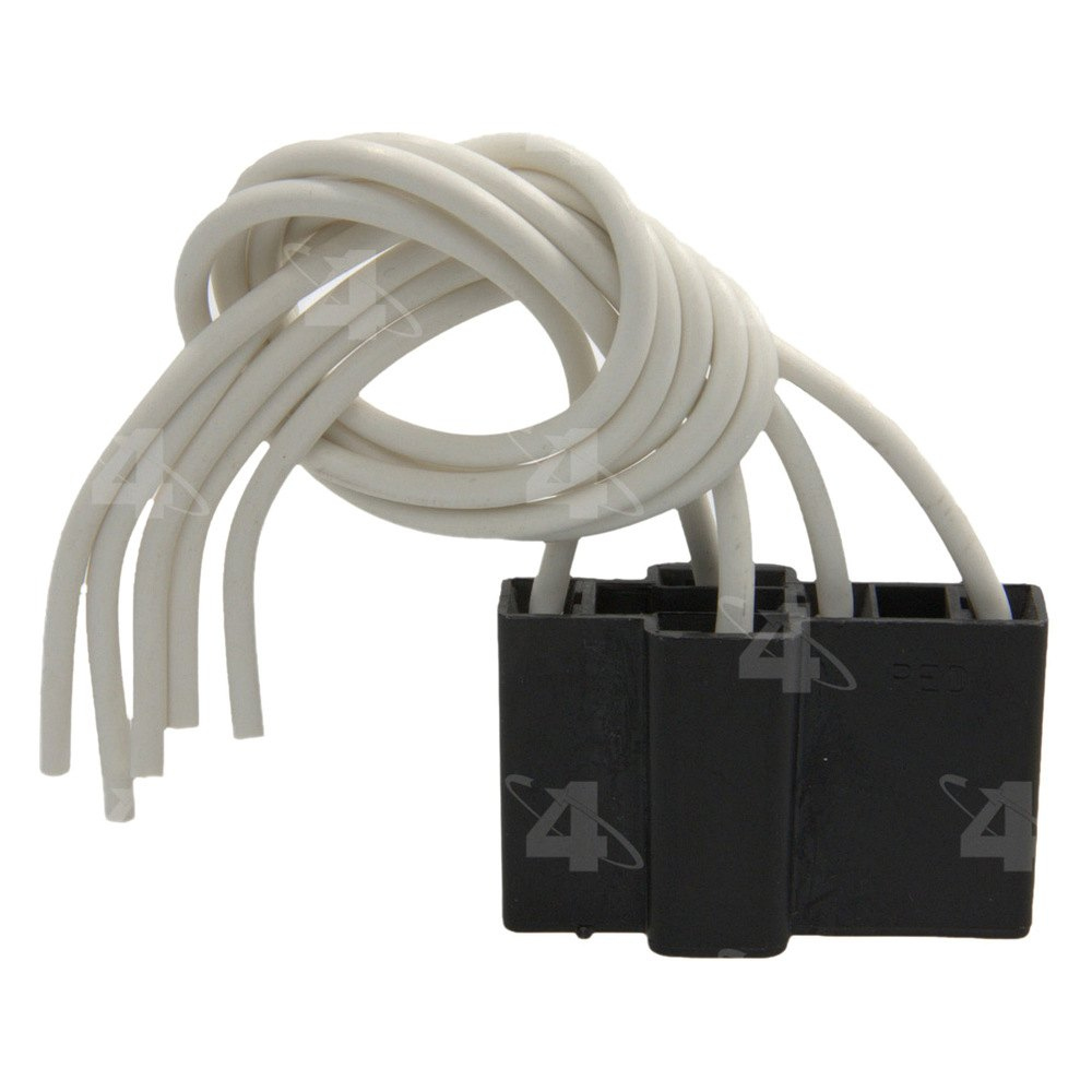 four seasons® 37202 - hvac blower relay harness connector humidifier hvac blower motor wiring