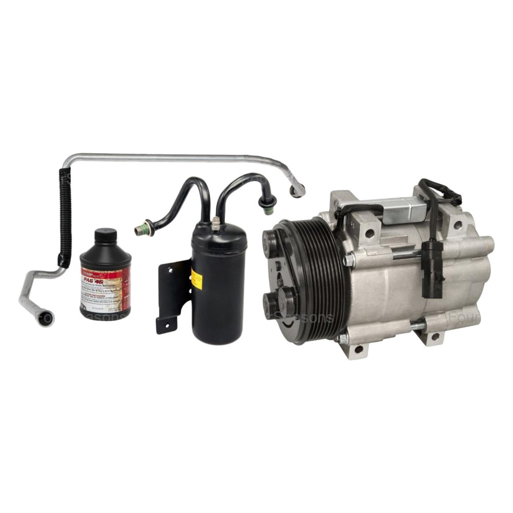 New A//C Compressor With Kit   Four Seasons   3143N
