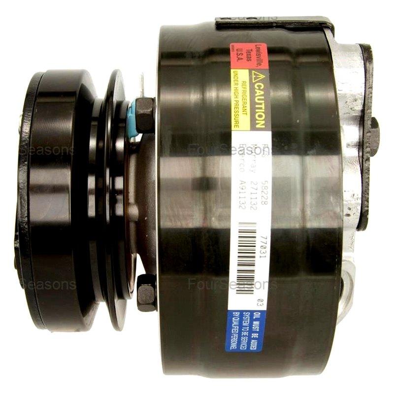 A//C Compressor-New Compressor 4 Seasons 58228