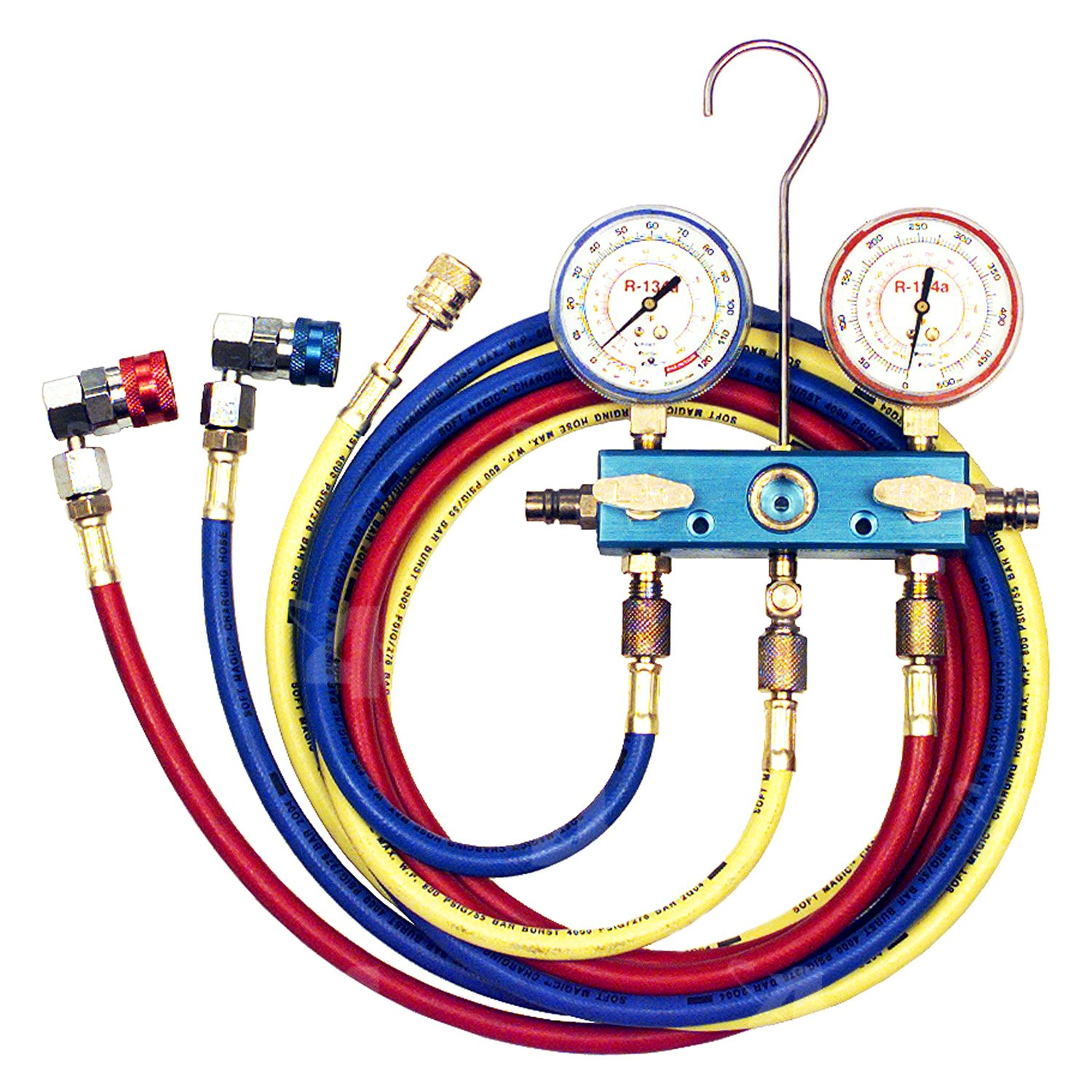 r134a manifold gauge set instructions