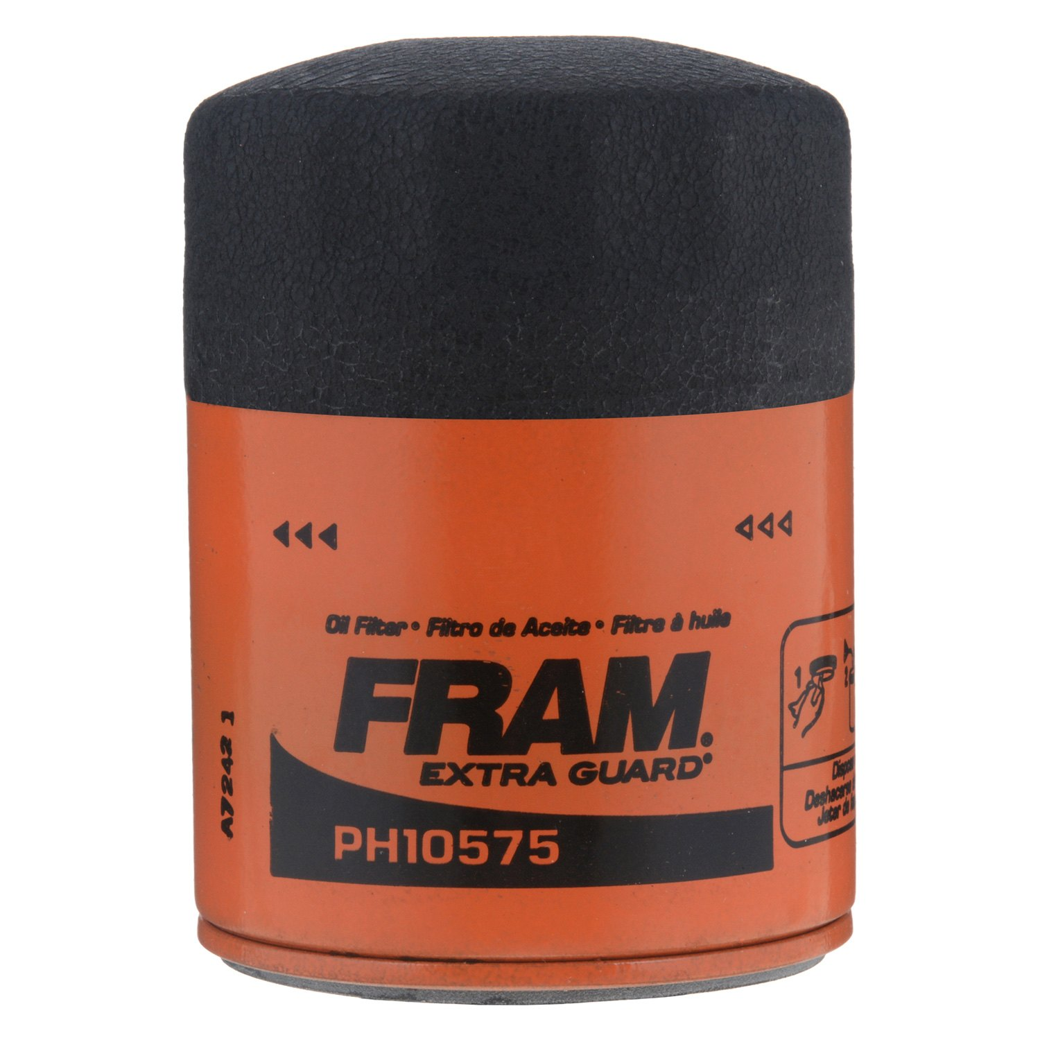 Fram Ph10575 Extra Guard Oil Filter 2009 Ford Fusion Fuel