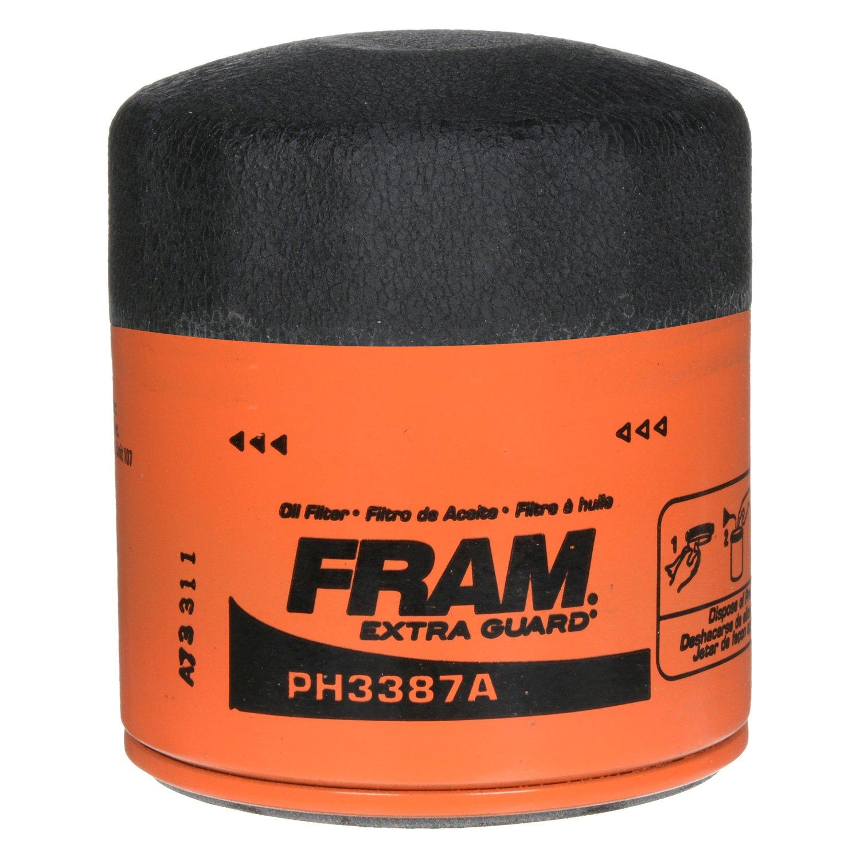 Fram Ph3387a Extra Guard Oil Filter 2007 Monte Carlo Fuel