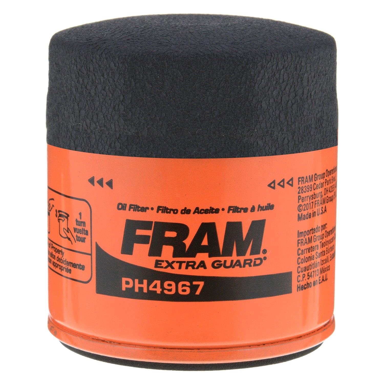 Fram Ph4967 Extra Guard Oil Filter 2001 Toyota Echo Fuel Location