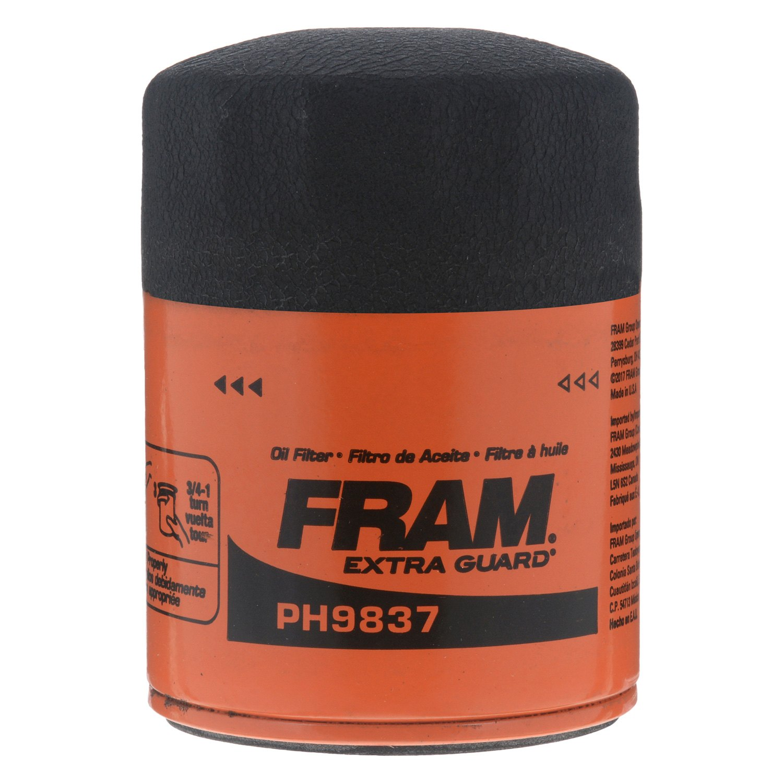 Fram Ph9837 Extra Guard Oil Filter 2007 Monte Carlo Fuel