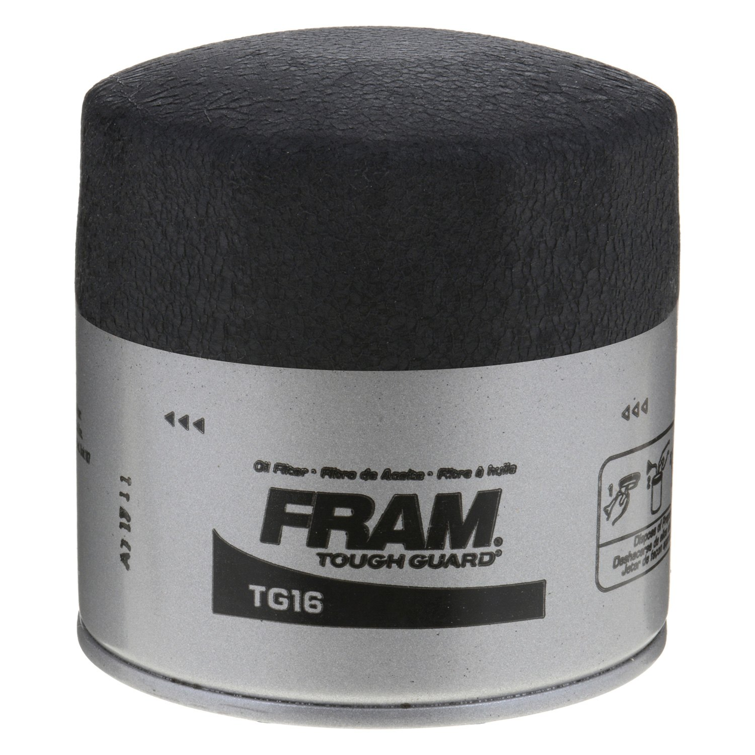 Fram Tg16 Tough Guard Oil Filter 1999 Jeep Wrangler Fuel Location