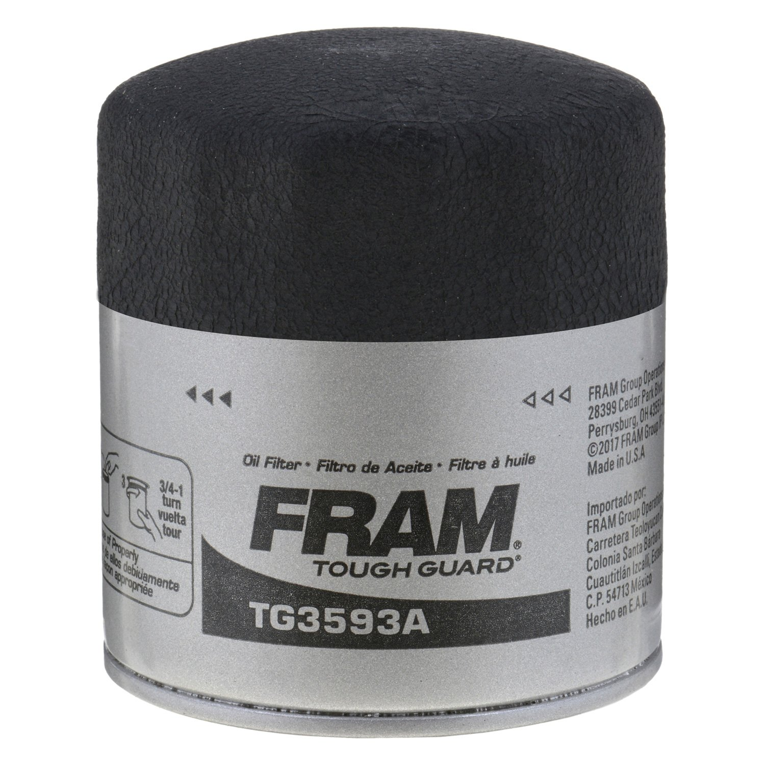 Fram Tg3593a Tough Guard Oil Filter 1990 Acura Integra Engine Free Image For User Manual