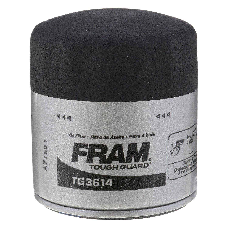 Fram Tg3614 Tough Guard Oil Filter 2002 Toyota Camry V6 Fuel Location