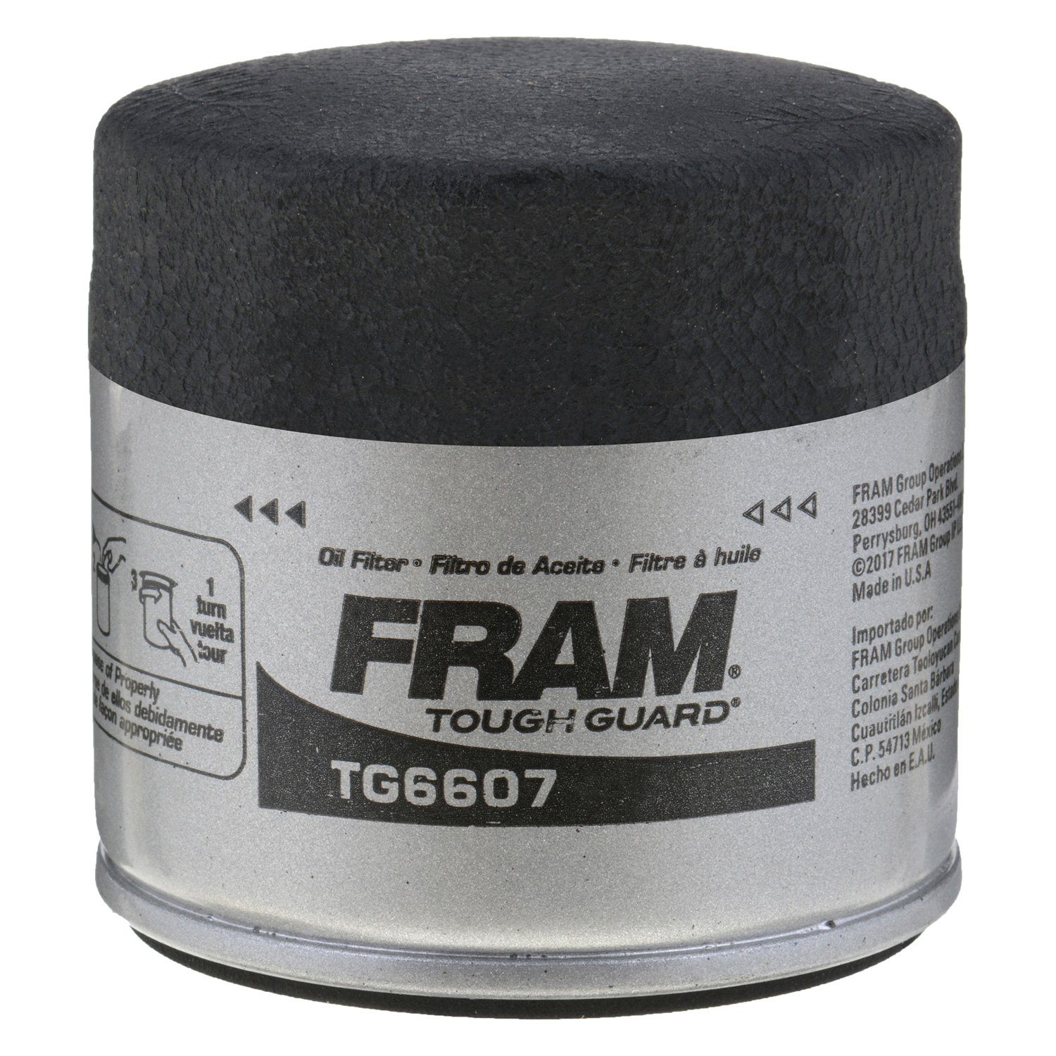 Fram Tg6607 Tough Guard Oil Filter 2012 Nissan Versa Fuel