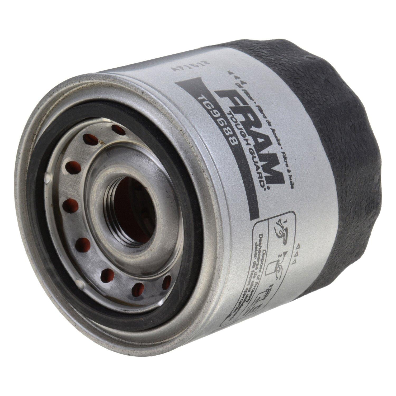 Fram Tg9688 Tough Guard Oil Filter 2005 Kia Sportage Fuel Filterfram