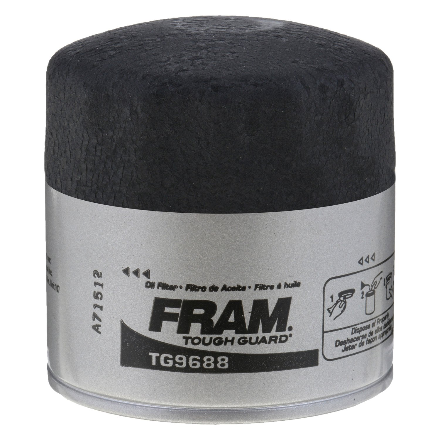 Fram Tg9688 Tough Guard Oil Filter 2000 Mitsubishi Eclipse Fuel