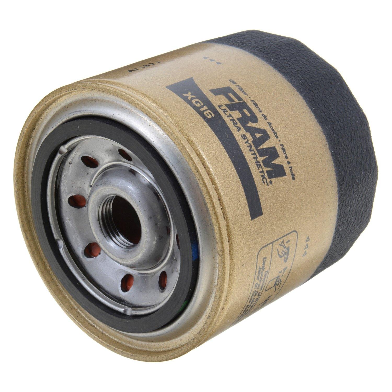Fram Xg16 Ultra Synthetic Oil Filter 1998 Jeep Wrangler Fuel Location Filterfram