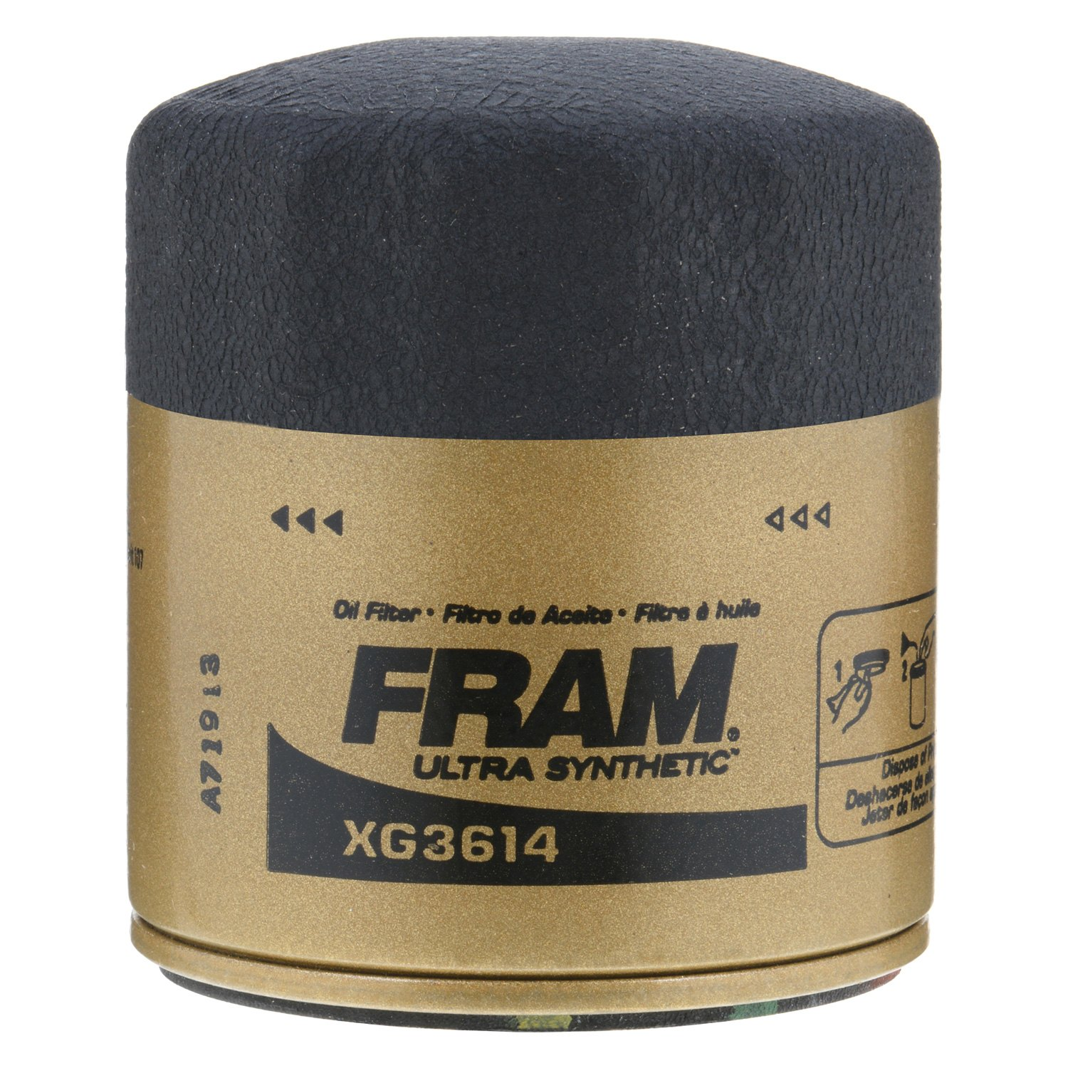 Fram Xg3614 Ultra Synthetic Oil Filter 2012 Ford Fiesta Fuel
