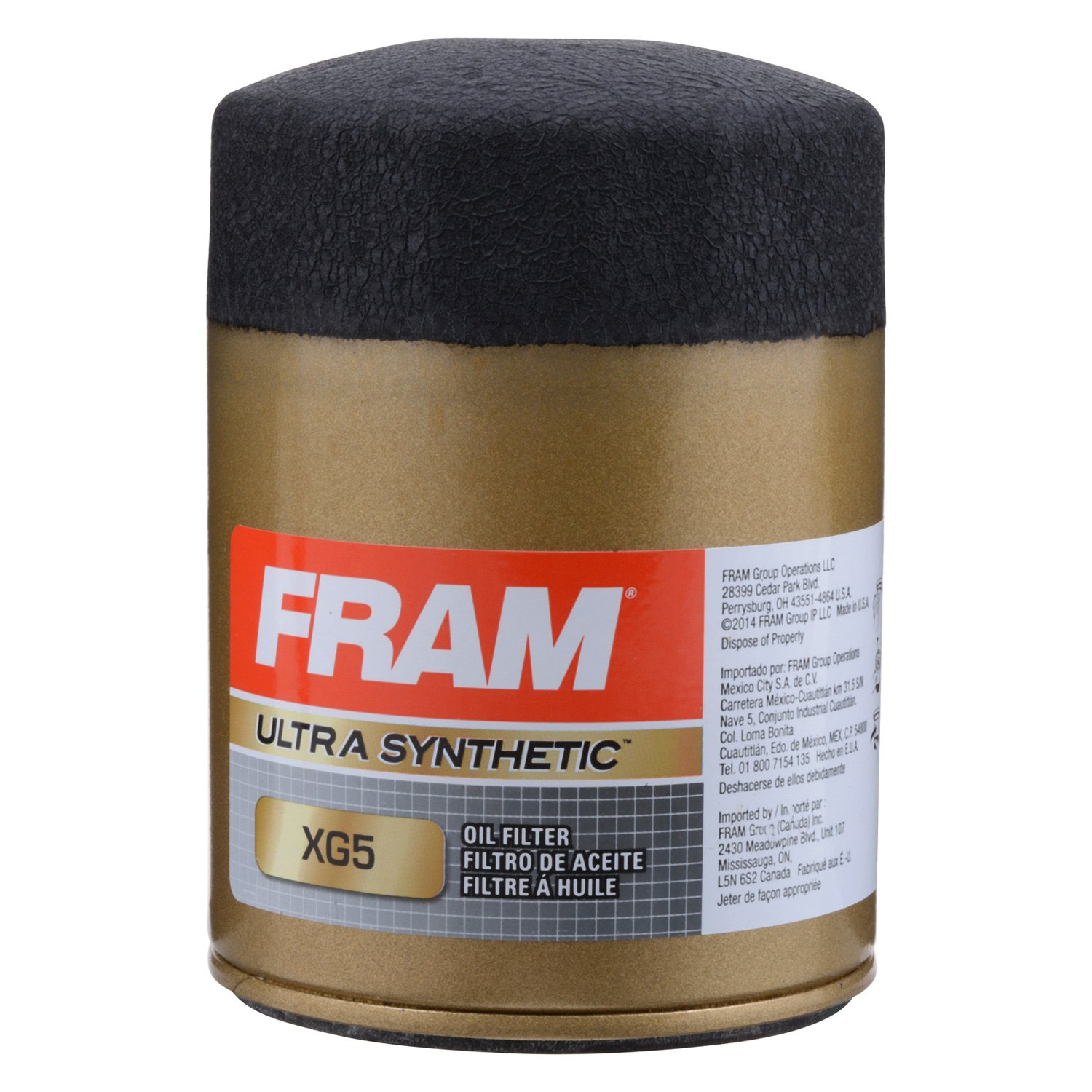 Fram XG5 Ultra Spin-On Oil Filter with Sure Grip