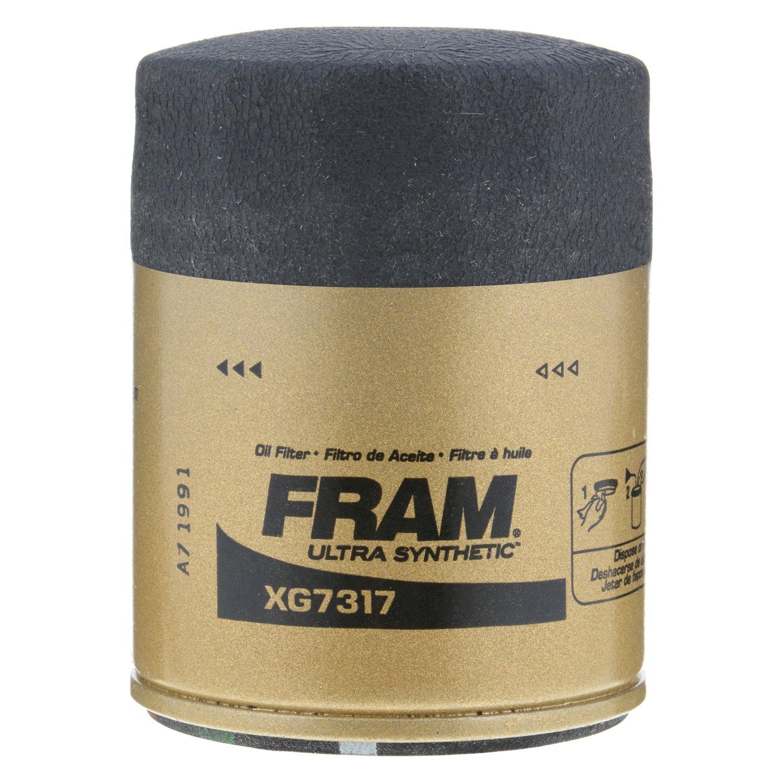 Fram Xg7317 Ultra Synthetic Oil Filter 2015 Honda Odyssey Location